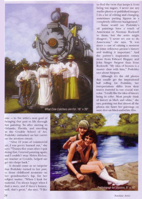 Magazine Artical Featuring Polley Podolsky
