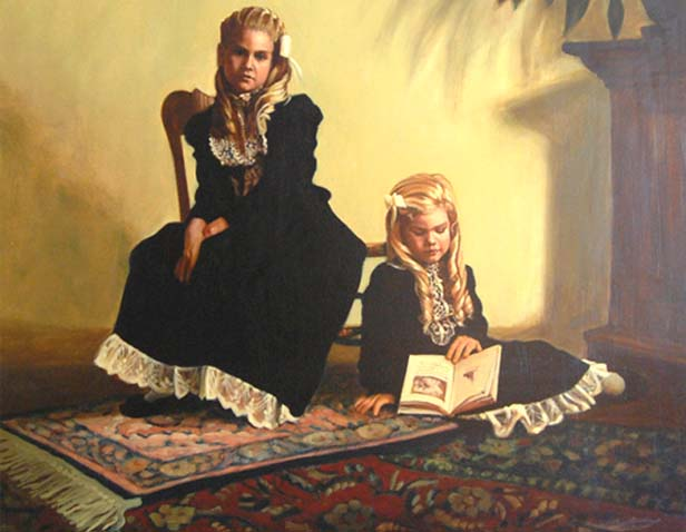 Polly Posolsky Fine Portraits in Oil